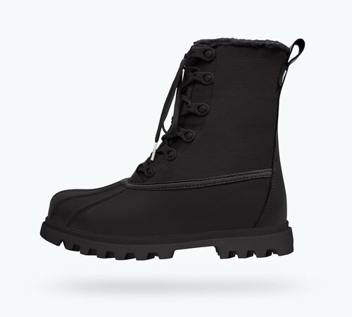 Side view of Jimmy 3.0 Treklite Boots in Jiffy Black /  Jiffy Black