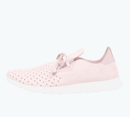 Top view of AP Moc Shoes in Milk Pink / Shell White / Shell Rubber