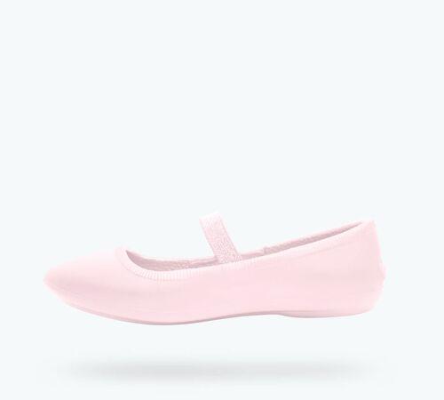Side view of Margot Kids in Milk Pink