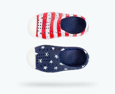 Native Jefferson Print Slip On Boys Shoes