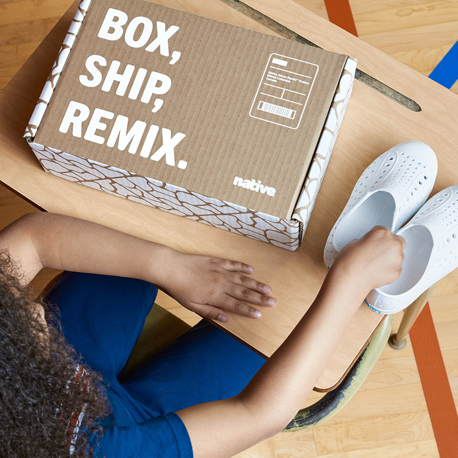 New Shoes - The Remix Project by Native Shoes