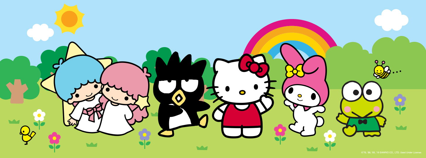 HELLO KITTY AND FRIENDS