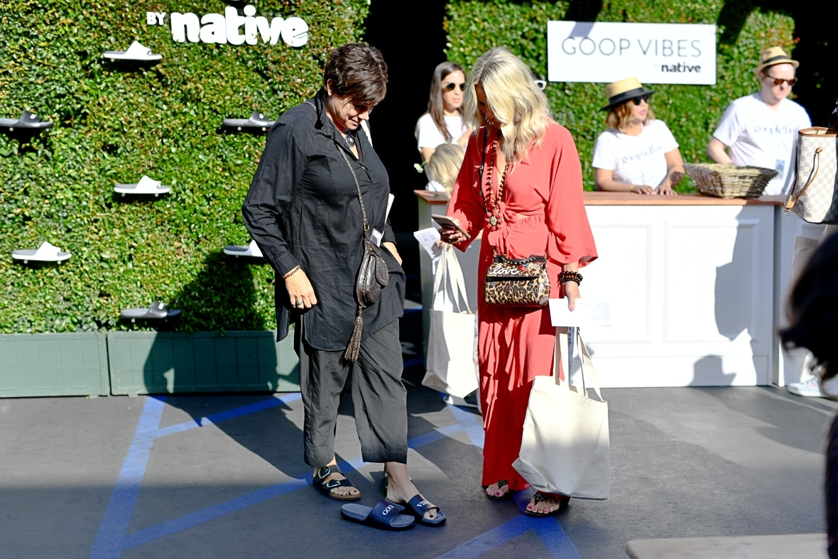 In goop Health summit attendees swapping their shoes for Native Shoes Spencer slides