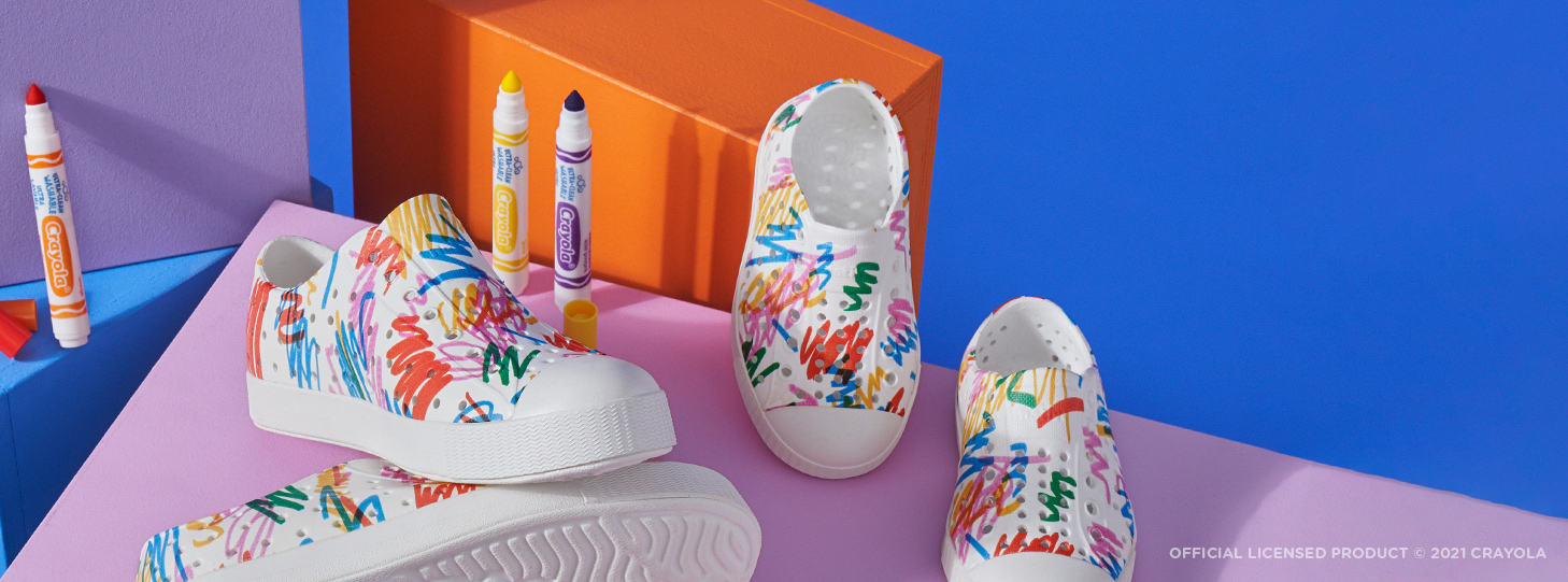 Native Shoes x Crayola® Collection
