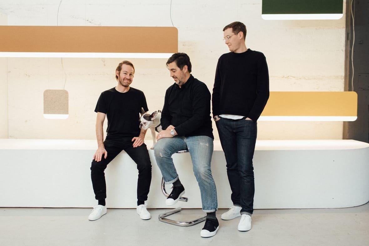 Caine Heintzman, Lukas Peet, and Matt