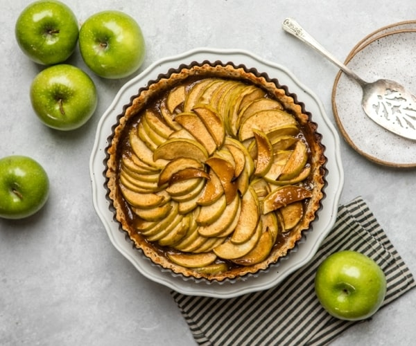 Beast Free Recipe Series: Salted Caramel Apple Tart
