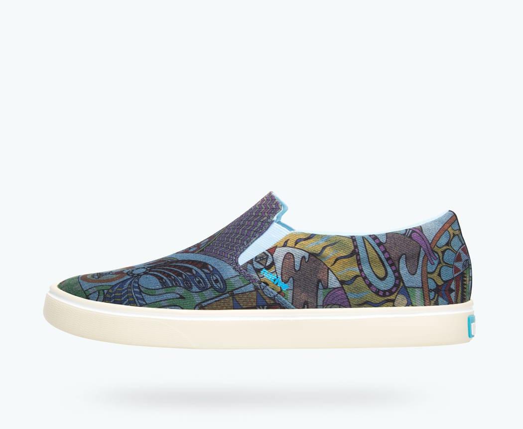 2f8ff59403 Floral Print Slip On Sneaker