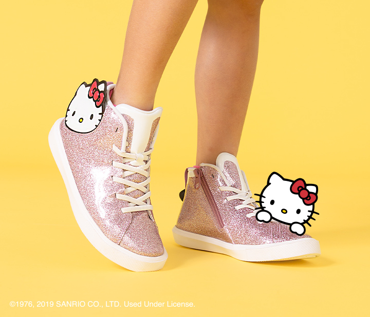 Monaco Mid Glitter Child x Hello Kitty®
